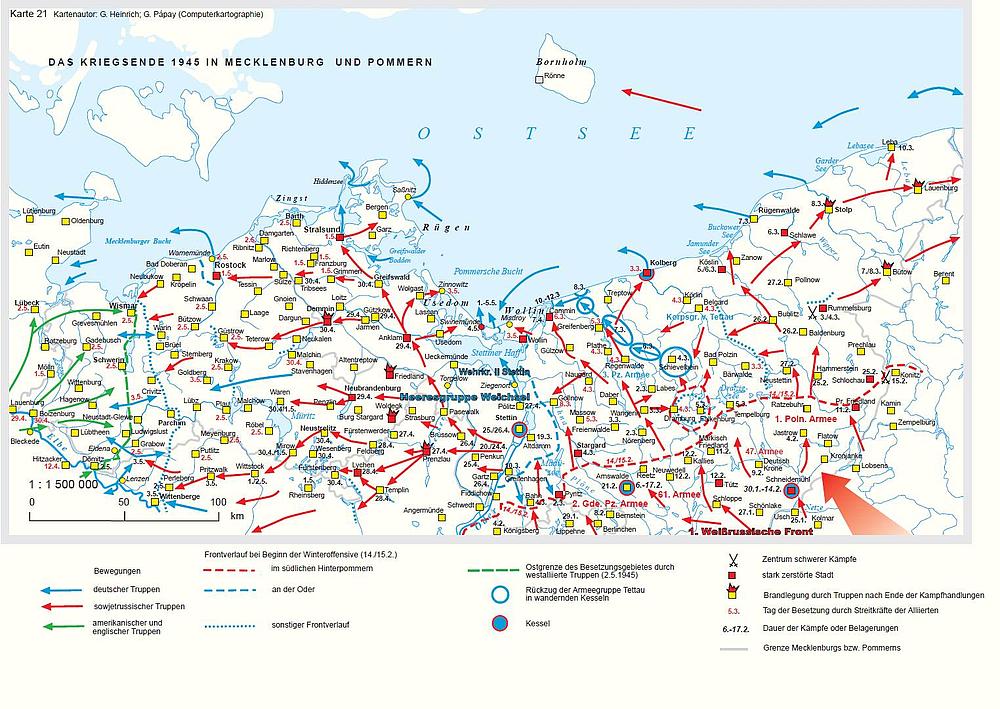 Pommern Karte Vor 1945.Landeszentrale Für Politische Bildung Mv Geschichte Mv In Karten