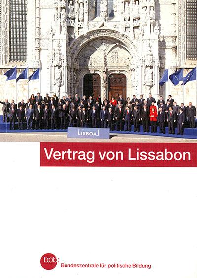 Vertrag Von Lissabon Publikation Landeszentrale Für Politische